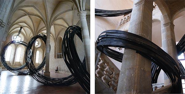 Espace André Malraux à Colmar - Expositions de Rainer Gross, Abbaye de Noirlac & Palais des archevêques de Narbonne