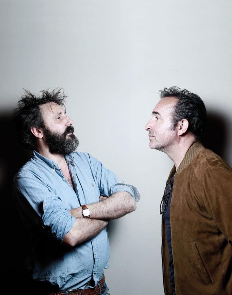 ZUT Magazine recontre Jean Dujardin et Quentin Dupieux, à l'occasion de la sortir di film Le Daim. ©Christophe Urbain