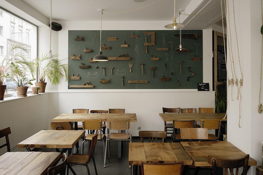 déco restaurant bar l'Etabli Strasbourg © Henri Vogt