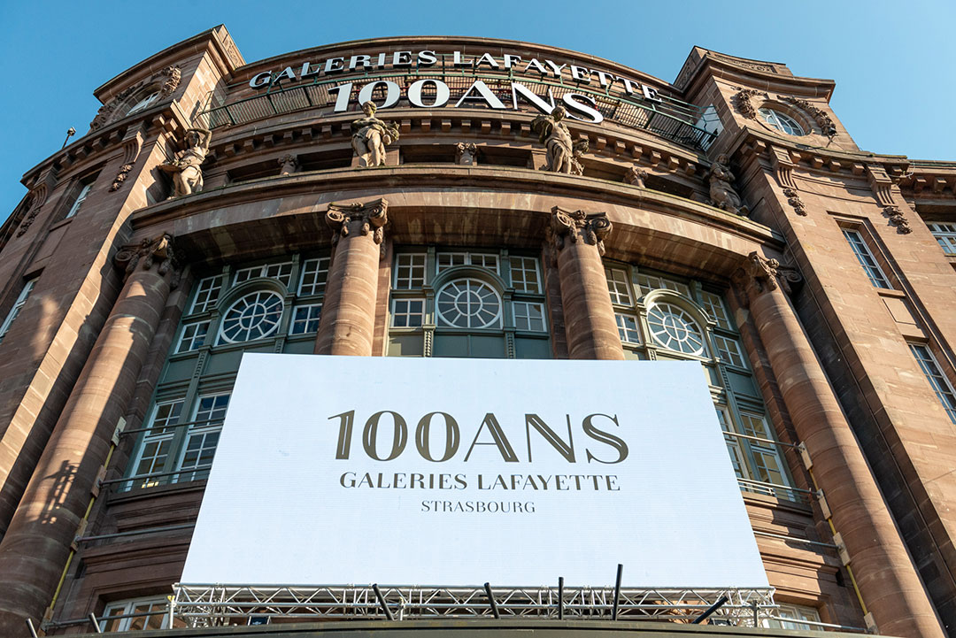 ZUT - 100 ans des Galeries Lafayette Strasbourg