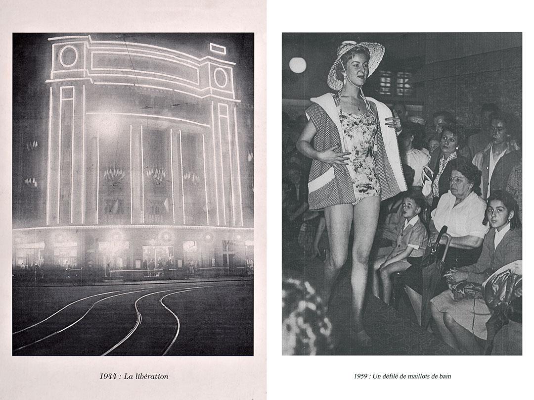 ZUT - 100 ans des Galeries Lafayette Strasbourg - Archives 1944 et 1959