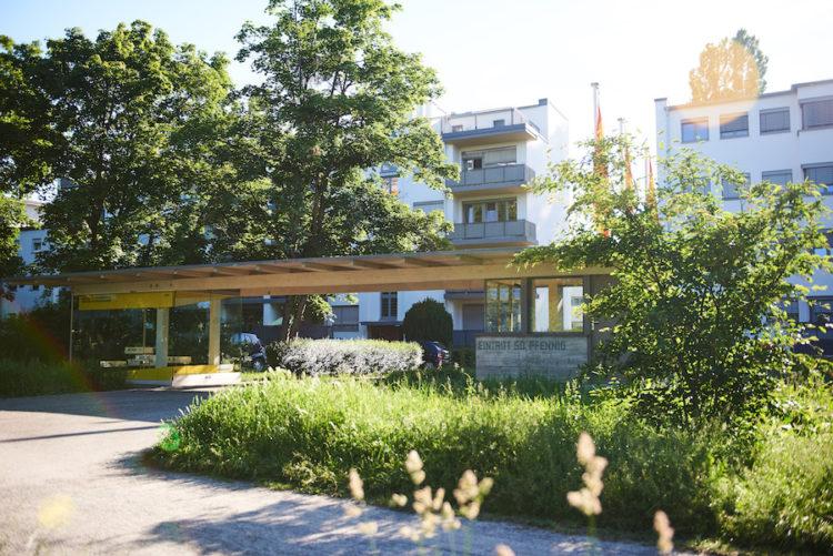 Cité / Siedlung Bauhaus Dammerstock, Karlsruhe - Photo Arno Kohlem