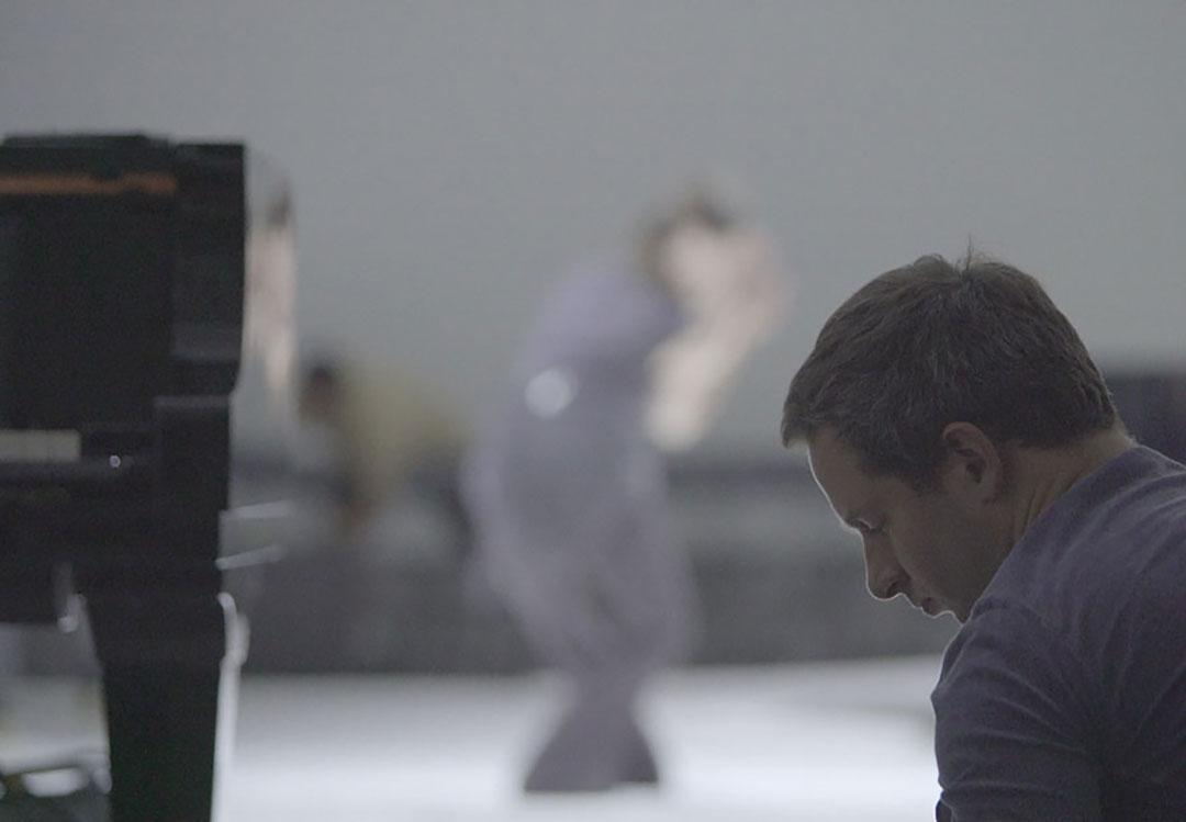 Cage au carré avec Bertrand Chamayou et Élodie Sicard ©Thibaut Castan