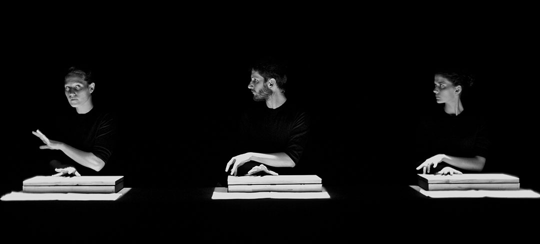 Musique de tables de Thierry de Mey ©Jean-Louis Fernandez