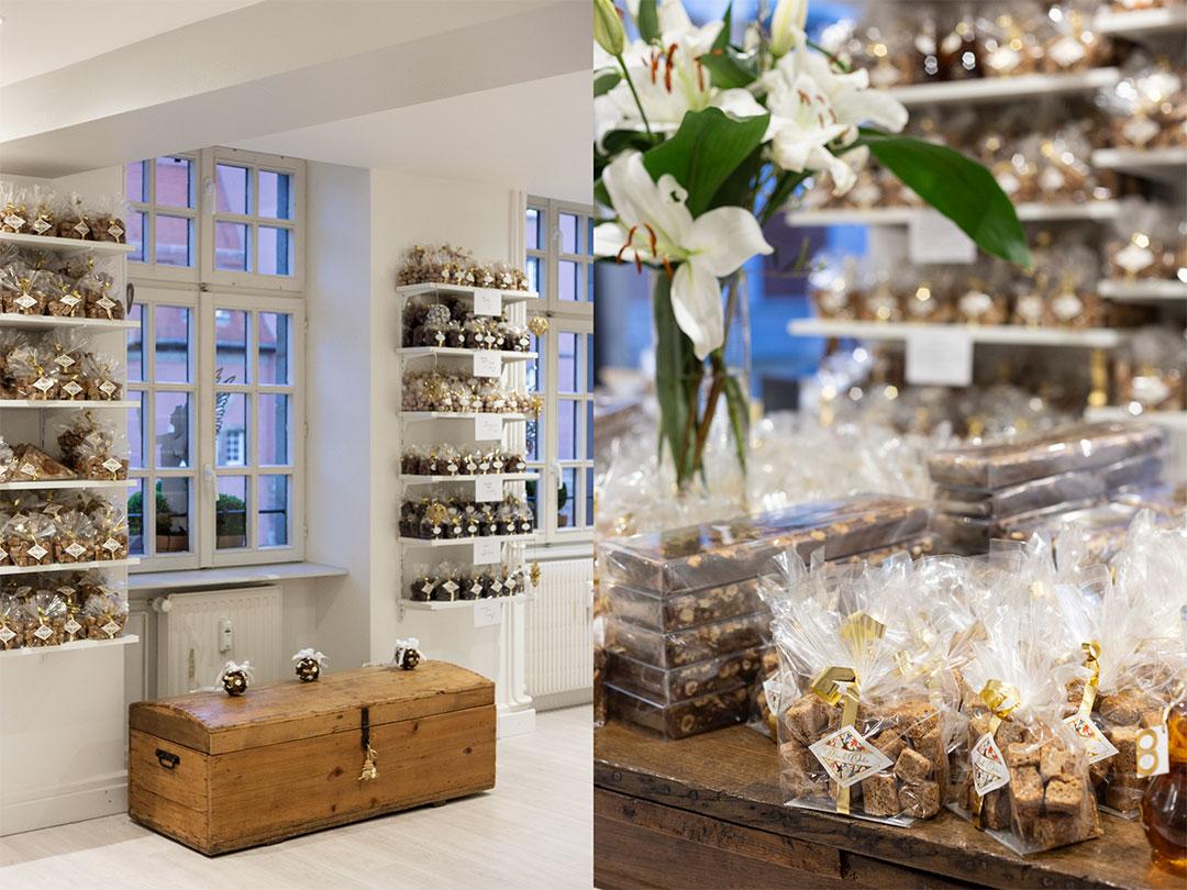 Nouvelle boutique de pain d'épices Mireille Oster, 17, rue des Moulins © Elisa Bapst