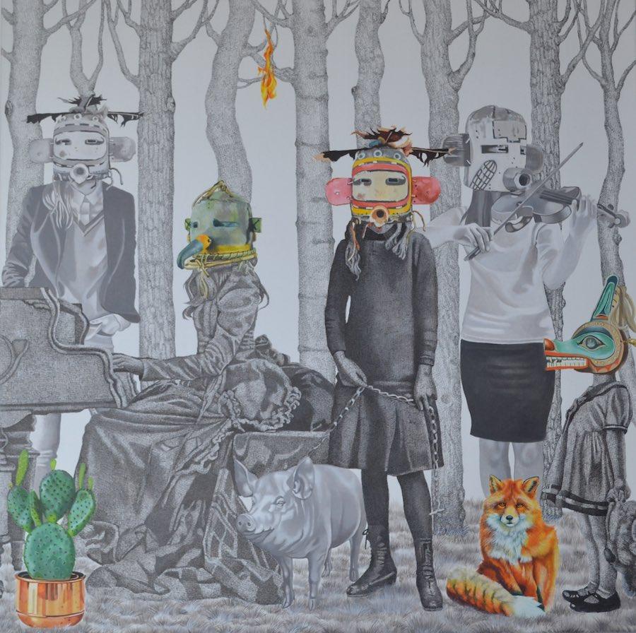 St-art, Nurhidayat, Galerie Valérie Eymeric