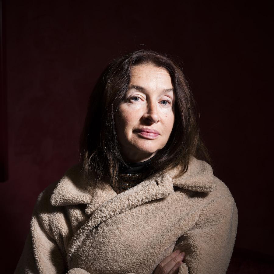 Anne Brochet, actrice et romancière, portrait à strasbourg, 18 novembre 2019
