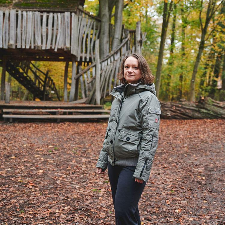 Anette Rößler, auteure, sociologue, joueuse de roller derby, nous parle de son lieu préféré dans la ville de Karlsruhe en Allemagne.