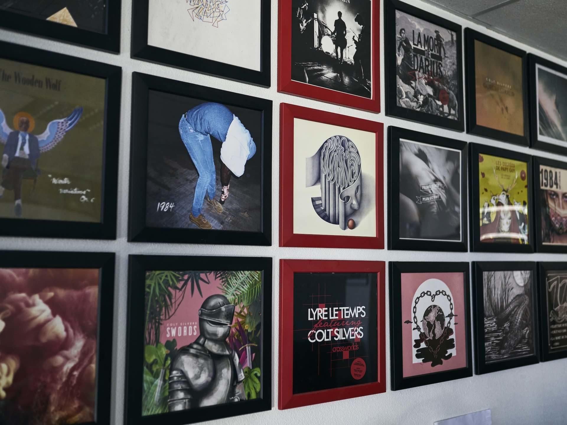 Deaf Rock Records ©Simon Pagès