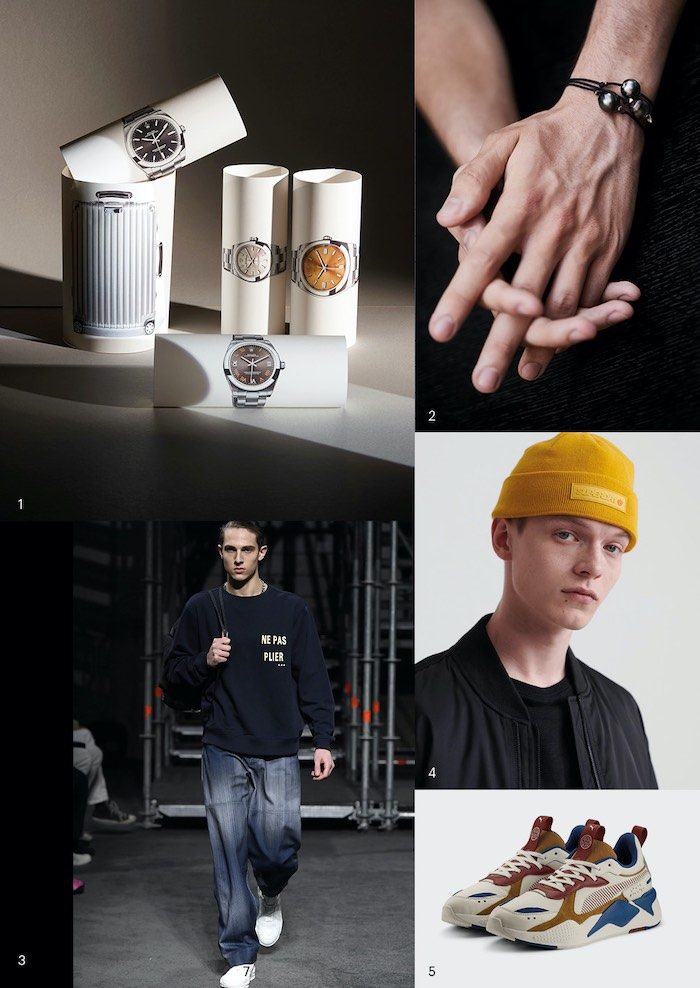 Packshots ©Thomas Hensinger/ © Rolex/ Par Myriam Commot-Delon / Photo Alexis Delon Style Homme
