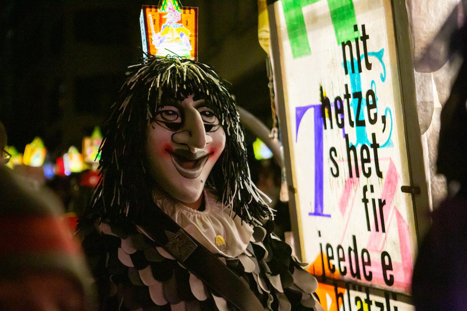 Le Morgenstreich à Bâle. Photo Greg Matter