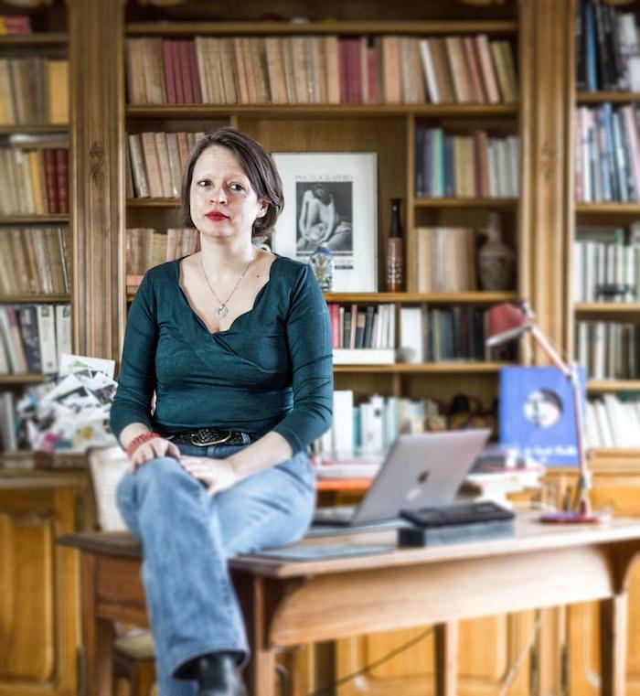 Sandra Boehringer, Maîtresse de conférences d'histoire grecque à l'Université de Strasbourg. Photo : Jesus s. Baptista