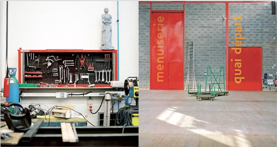 Les ateliers de construction de décors du Théâtre National de Strasbourg - Photos : Christophe Urbain