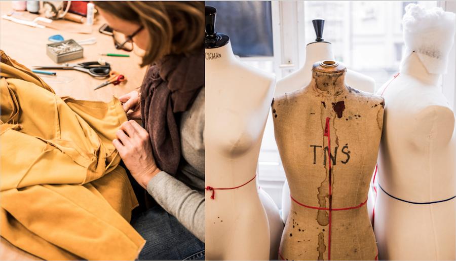 L'atelier de création de costumes du Théâtre National de Strasbourg - Photo : Pascal Bastien