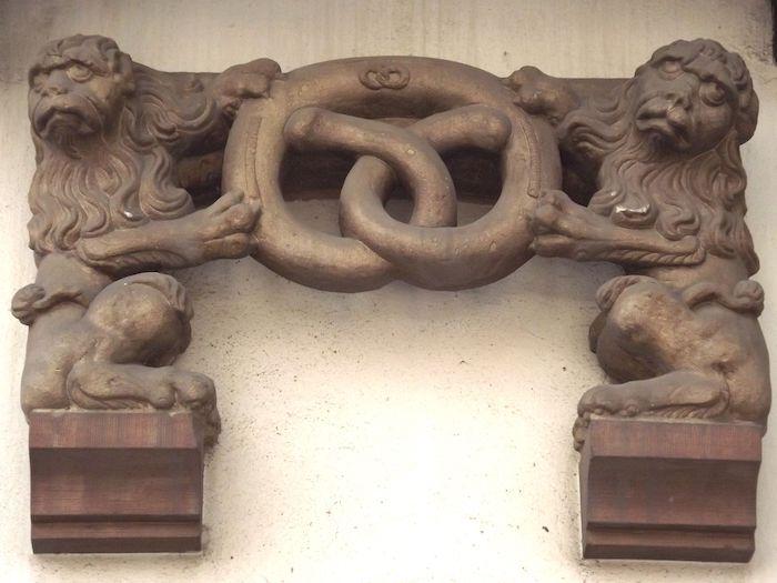 Emblème de la corporation des boulangers. Photo: C. Paccou