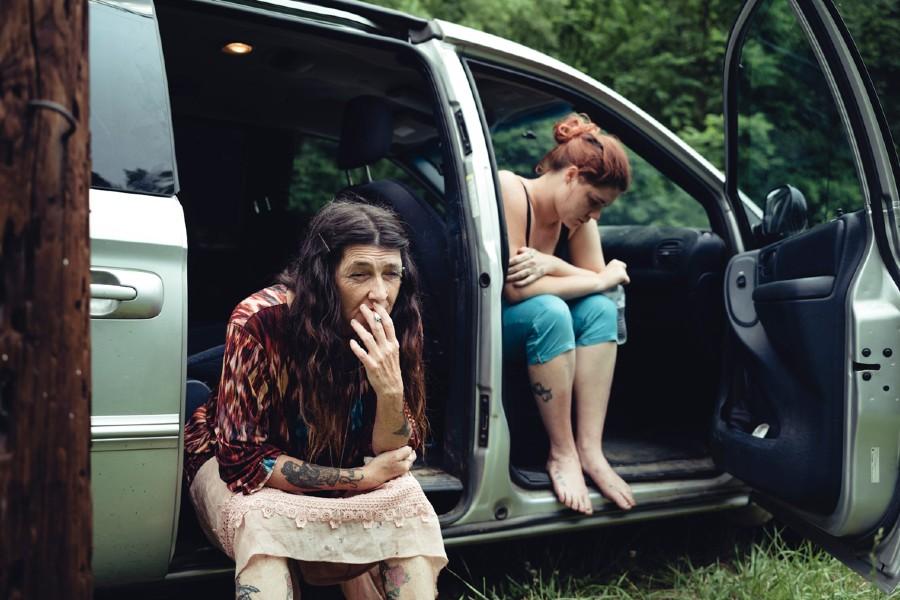 Photographie de la série Them that believe par Cyril Abad, prise en 2019 dans les montagnes Appalaches en Virginie Occidentale, États-Unis.
