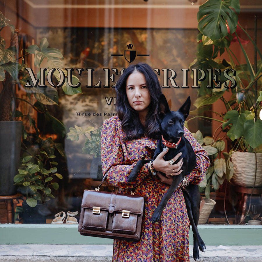 ZUT-LORRAINE—Claire Benalouache, fondatrice de la boutique déco La Brea, photographiée à Moules Fripes @Romain Gamba