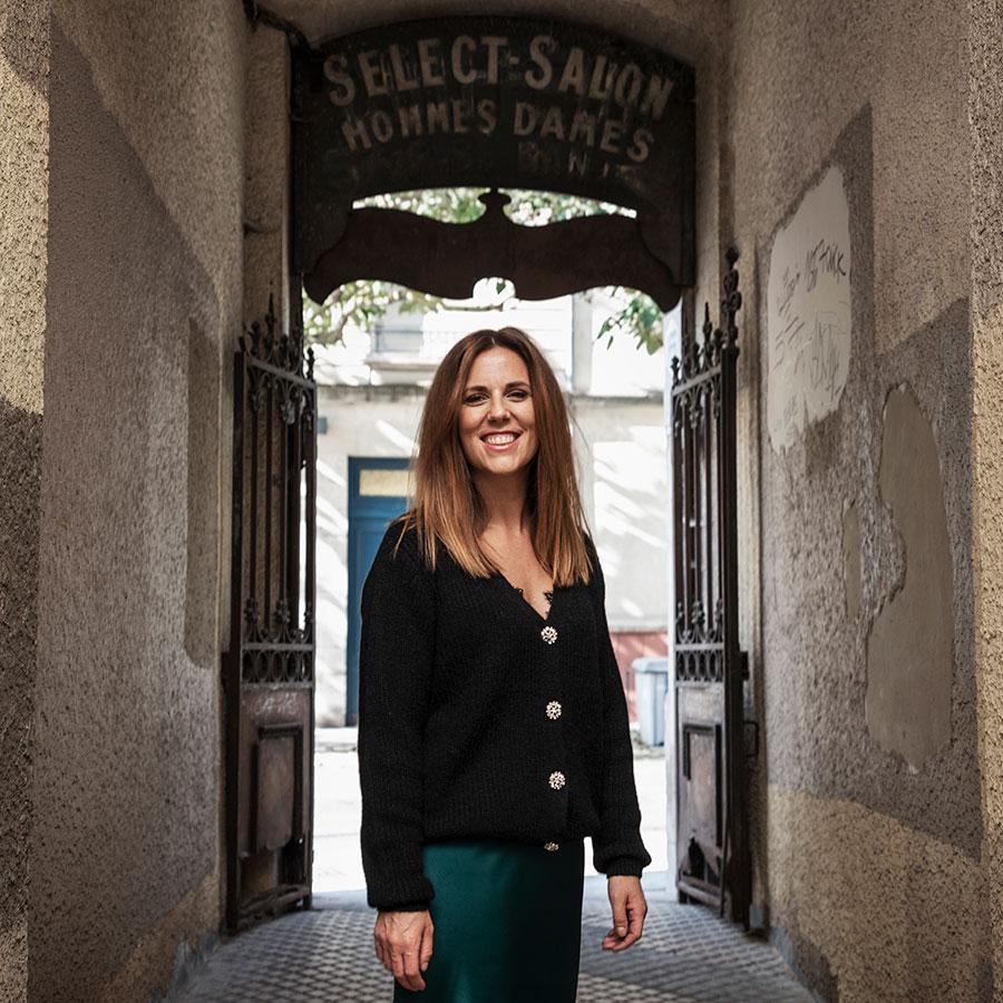 ZUT-LORRAINE—Justine Corre, fondatrice du salon de beauté Le Salon de Justine, photographiée au passage Marceau @William Henrion