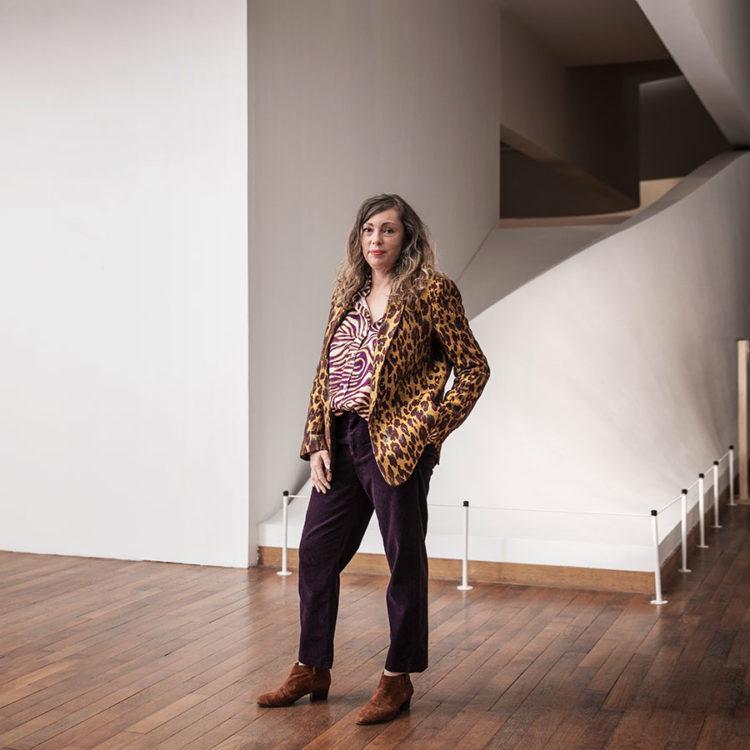 ZUT-LORRAINE—Maud Guely, illustratrice et graphiste, photographiée au Muséum-Aquarium @William Henrion