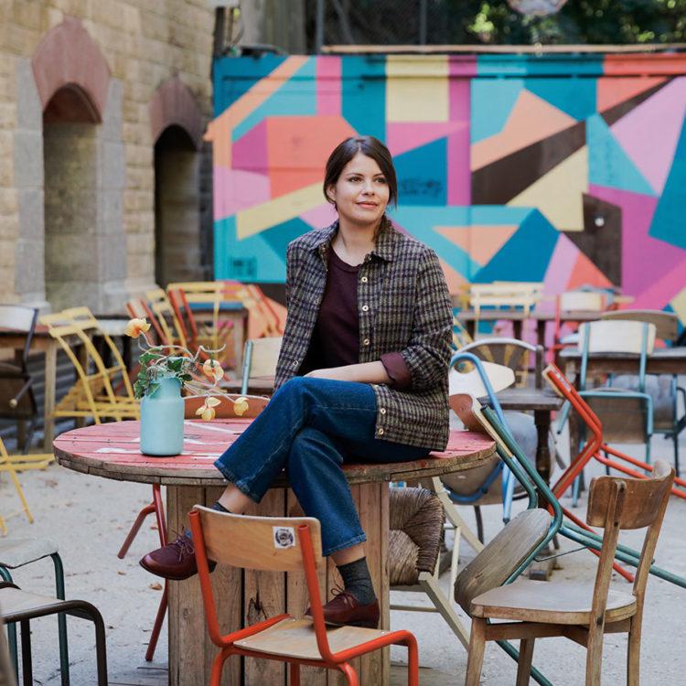 ZUT-LORRAINE—Morgane Baroudel, gérante de la boutique Des Petits Hauts, photographiée aux Frigos Ardents @Romain Gamba