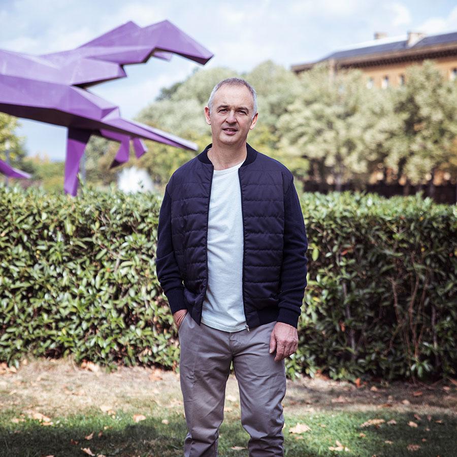 ZUT-LORRAINE—Thomas Kappel, co-gérant du cabinet d'expertise comptable Gestion & Stratégies, photographié à l'Arsenal @William Henrion