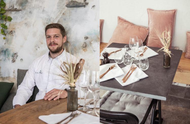 Portrait, Table, Racine, Nancy Restaurant Racine Martin Debuiche © William Henrion