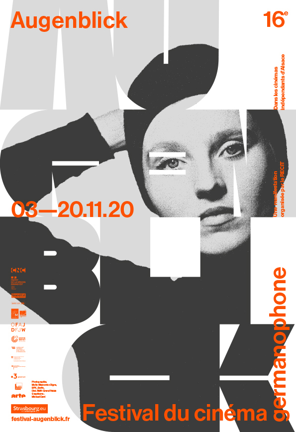 Festival Augenblick 2020, affiche, Mickaël Dard