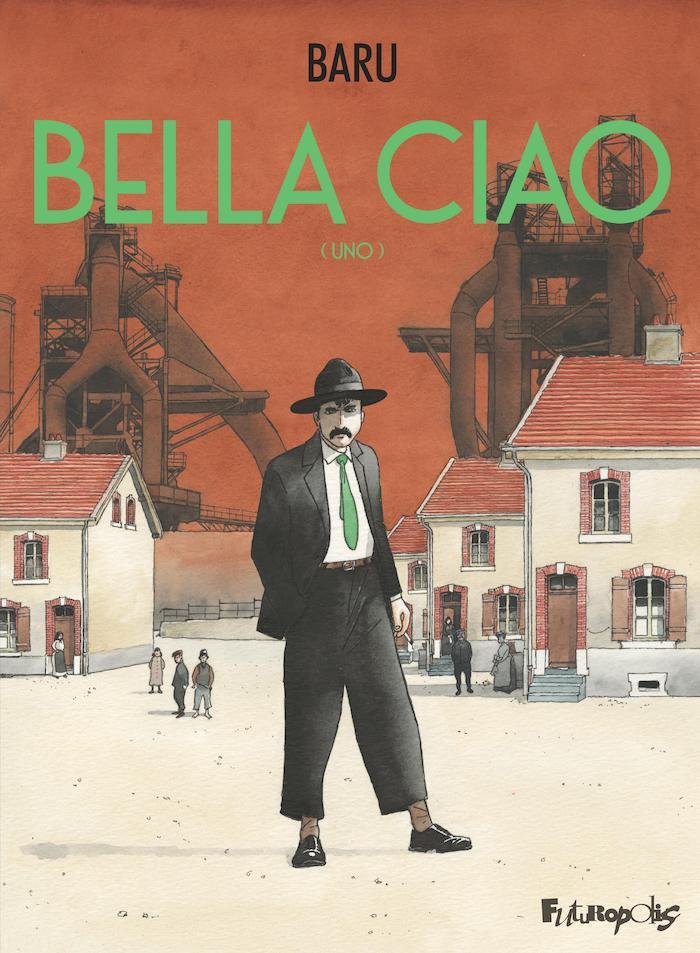 Bande dessinée, Ciao Bella, Hervé Baruela.