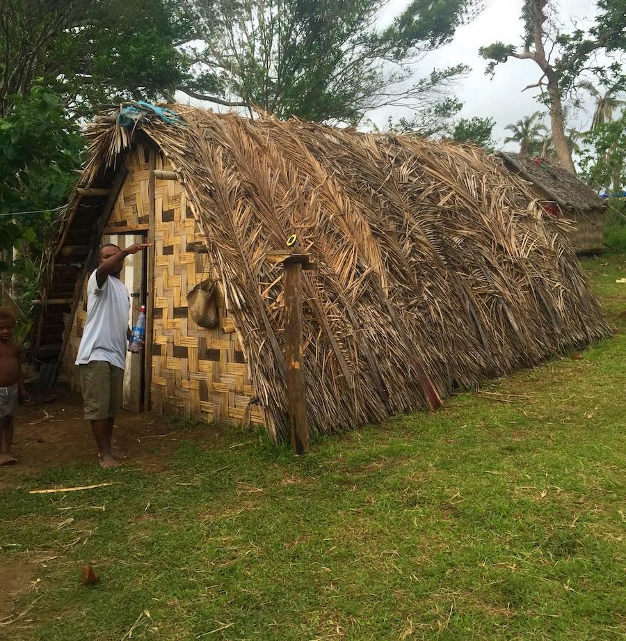 Maison Sef Haos au Vanuatu
