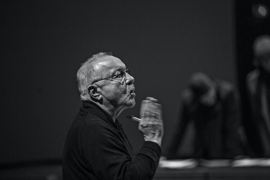 Jean-Pierre Vincent_repetitions LOrestie théâtre national de Strasbourg JeanLouis FERNANDEZ