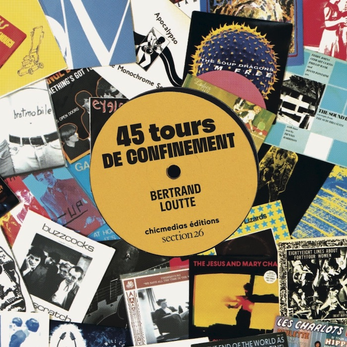 Couverture 45 tours de confinement