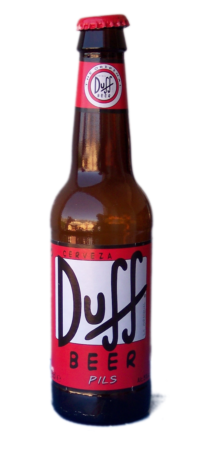 Bière duff - Colloque Ceipi Pop Culture