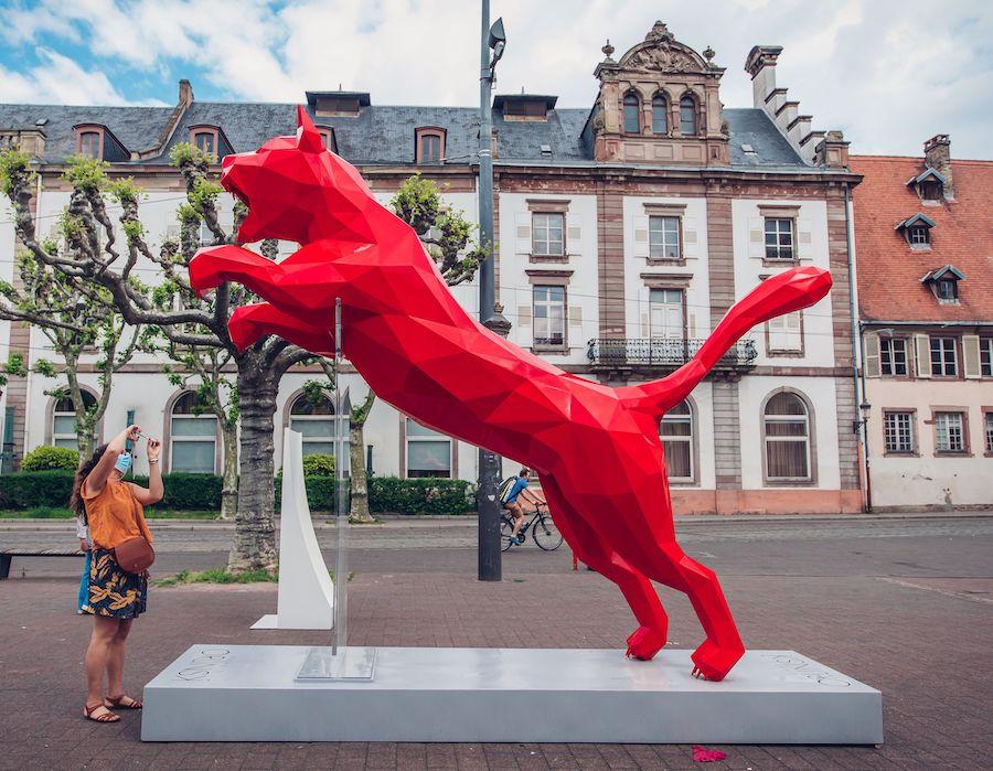 The Cat Richard Orlinski / Puma L'Industrie Magnifique
