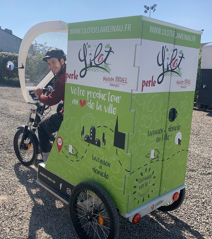 L'Ilote de la Meinau vélo cargo