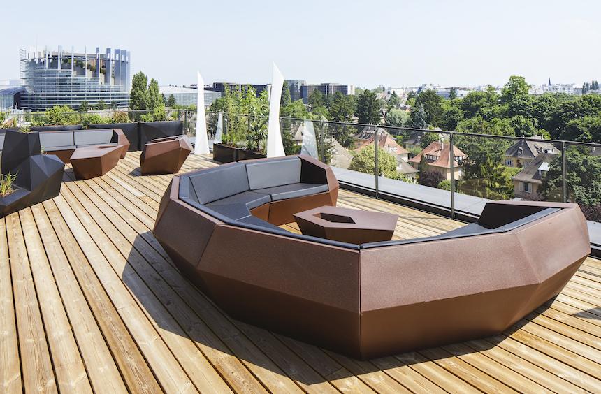 Puma Strasbourg rooftop