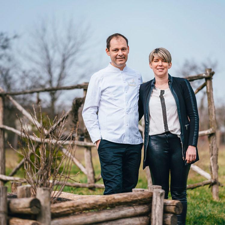 ZUT-HAGUENAU_et_alentours—VUPAR—Christelle et CédricDeckert, propriétaires du restaurant la Merise à Laubach—©Christoph_De_Barry