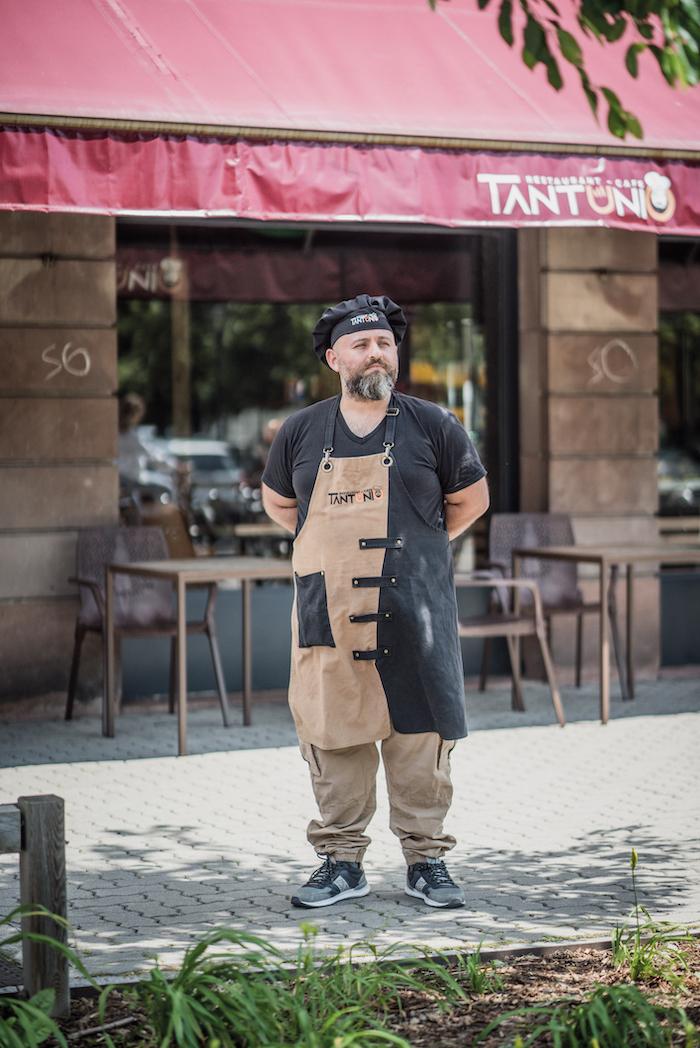 Bag Nevzat, gérant de Tantunio